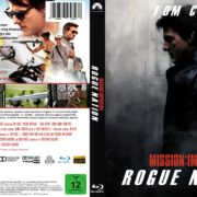 Mission: Impossible – Rogue Nation (2015) R2 Custom German Blu-Ray Covers