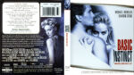 Basic Instinct (1992) R1 Blu-Ray Cover & Label
