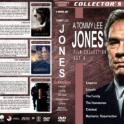 Tommy Lee Jones Film Collection – Set 9 (2012-2016) R1 Custom Covers
