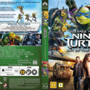 Teenage Mutant Ninja Turtles: Out Of The Shadows (2016) R2 Blu-Ray Nordic Cover