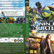 Teenage Mutant Ninja Turtles: Out Of The Shadows (2016) R2 DVD Nordic Cover