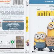 Minions (2016) R2 Blu-Ray Italian Cover & Label
