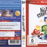 Alles steht Kopf 3D (2016) R2 German Blu-Ray Cover