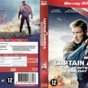 Captain America The Winter Soldier 3D (2014) R2 Blu-Ray Dutch Cover