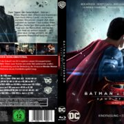 Batman vs. Superman Dawn of Justice (2016) R2 German Blu-Ray Covers