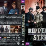 Ripper Street – Season 4 (2016) R1 Custom Cover & Labels