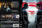 Batman v Superman: Dawn of Justice (2016) R2 German Custom Cover & Labels