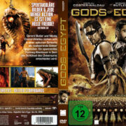Gods of Egypt (2016) R2 German Cover & Labels