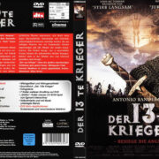 Der 13te Krieger (1999) R2 German Cover & Label
