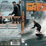 Point Break (2016) R2 German Blu-Ray Cover