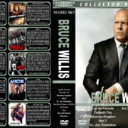 Bruce Willis Filmography – set 6 (2012-2015) R1 Custom Cover