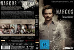Narcos Staffel 1 (2015) R2 German Custom Cover & Labels