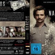 Narcos Staffel 1 (2015) R2 German Custom Cover & Labels