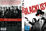 The Blacklist Staffel 3 (2016) R2 German Custom Cover & Labels