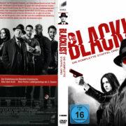 The Blacklist Staffel 3 (2016) R2 German Custom Cover & Labels