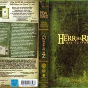 Der Herr der Ringe - Die Gefährten (2001) R2 German Cover & Labels