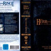 Der Herr der Ringe - Die Rückkehr des Königs (2003) R2 German Cover & Labels