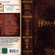 Der Herr der Ringe – Die Zwei Türme (2002) R2 German Cover & Labels