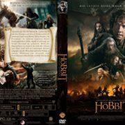 Der Hobbit – Die Schlacht der fünf Heere (2014) R2 German Cover & Label
