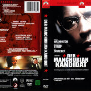 Der Manchurian Kandidat (2005) R2 German Covers & Label