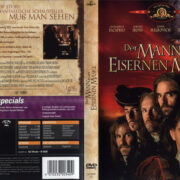 Der Mann in der eisernen Maske (1998) R2 German Cover & Label