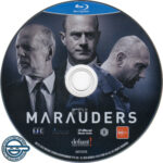 Marauders (2016) R4 Blu-Ray DVD Label