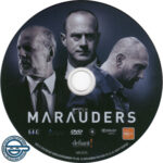 Marauders (2016) R4 DVD Label