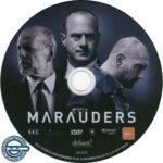 Marauders (2016) R4 DVD Label