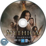 Mythica: The Darkspore (2015) R4 DVD Label