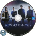 Now You See Me 2 (2016) R4 DVD Label