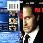 Wall Street (1987) R1 Blu-Ray Cover & Label