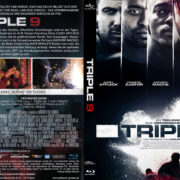 Triple 9 (2016) R2 German Blu-Ray Cover