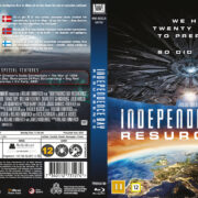 Independence Day - Resurgence (2016) R2 Blu-Ray Nordic Cover