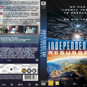 Independence Day - Resurgence (2016) R2 DVD Nordic Cover