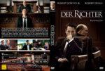 Der Richter – Recht oder Ehre (2014) R2 German Custom Cover & Label