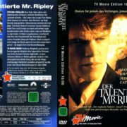 Der Talentierte Mr. Ripley (1999) R2 German Cover & Label