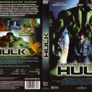 Der unglaubliche Hulk (2008) R2 German Cover & Label