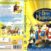 Die Drei Musketiere - Walt Disney (2000) R2 German Cover & Label