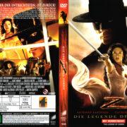 Die Legende des Zorro (2005) R2 German Cover & label