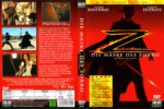 Die Maske des Zorro (1998) R2 German Cover & Label