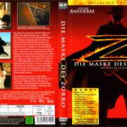 Die Maske des Zorro (1998) R2 German Cover & Label