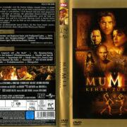 Die Mumie kehrt zurück (2001) R2 German Cover & Labels