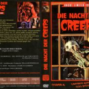 Die Nacht der Creeps (1986) R2 German Cover & label