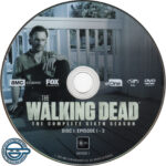 The Walking Dead: Season 6 (2016) R4 DVD Labels