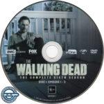 The Walking Dead: Season 6 (2016) R4 DVD Labels