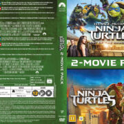 Teenage Mutant Ninja Turtles – 2-Movie Pack (2016) R2 DVD Nordic Cover