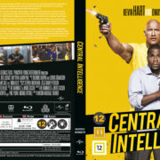 Central Intelligence (2016) R2 Blu-Ray Nordic Cover