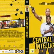 Central Intelligence (2016) R2 DVD Nordic Cover