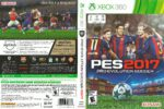 Pro Evolution Soccer 2017 (2016) USA XBOX360 Spanish Cover & Label