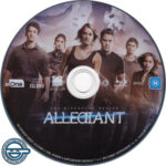 Allegiant (2016) R4 Blu-Ray Label